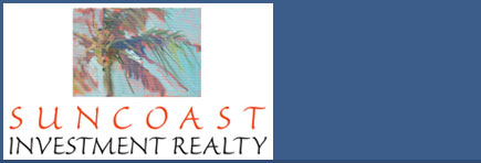 Suncoast Investment Realty with Danny Marr, located in Sarasota, Florida. Over 30 years of commercial real estate brokerage, investment evaluation and real estate development. Focused on real estate investment properties to include: multi-family communities, apartments, condos, retail shopping centers, office buildings / parks and self storage facilities.